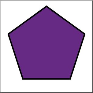 Pentagon Clipart.
