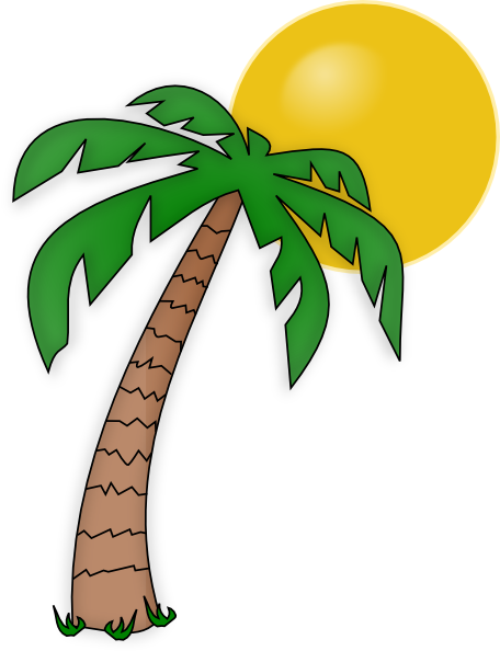 Clip art palm tree clipart images gallery for free download.