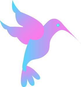Free Hummingbird Clip Art Image.