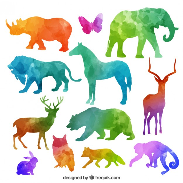 Animals vectors, +9,600 free files in .AI, .EPS format.