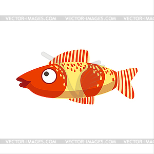 And Yellow Fantastic Colorful Aquarium Fish,.