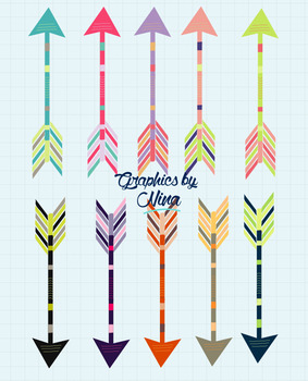 Colorful Arrow Clipart.
