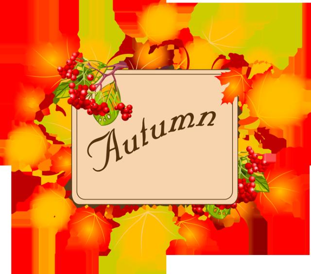 Autumn Clip Art 2013.