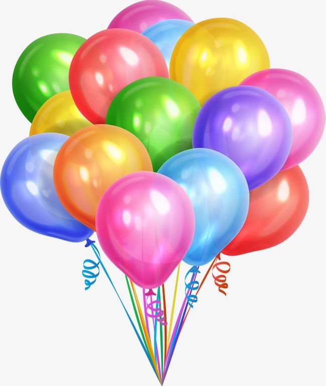 Colorful Dream Balloons PNG, Clipart, Ball, Balloon.