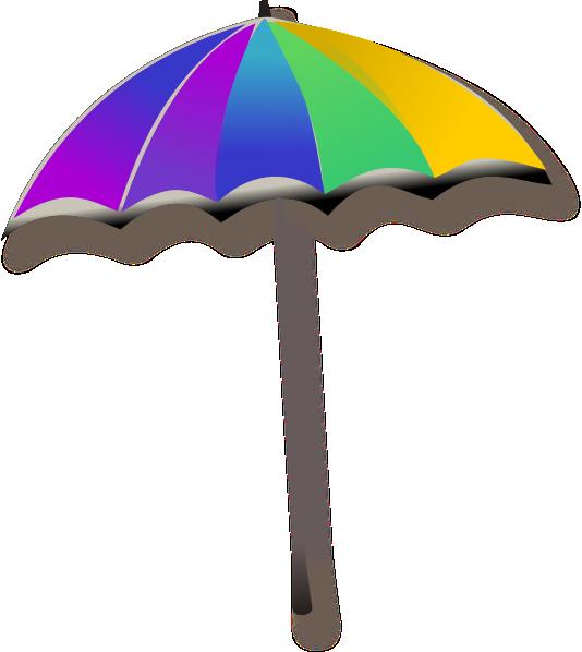 Beach Umbrella Cliparts.