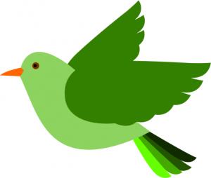 Colors Bird Clip Art Download.