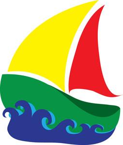 Free Sailboat Clip Art Image.