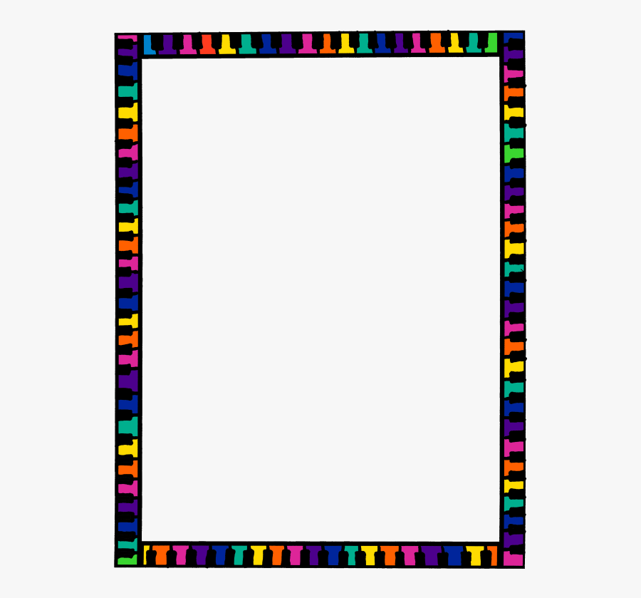 Colorful Border Clipart Borders And Frames Clip Art.