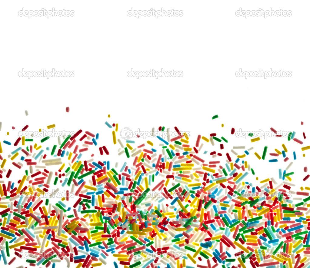 Sprinkles Border Clipart.