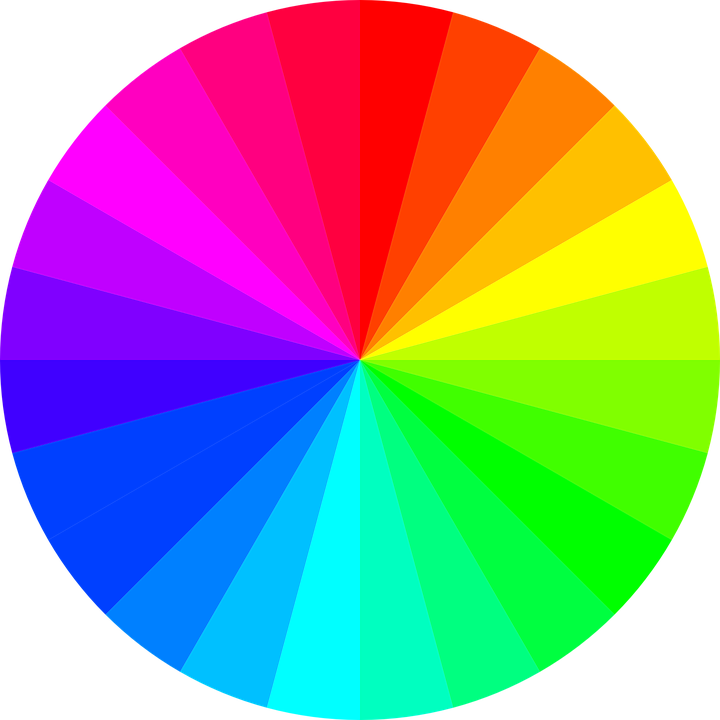 Free vector graphic: Rainbow Colors, Circle.
