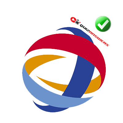 Colorful Circle S around a Sphere Logo.