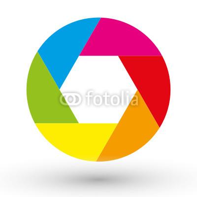 Colorful circle Logos.