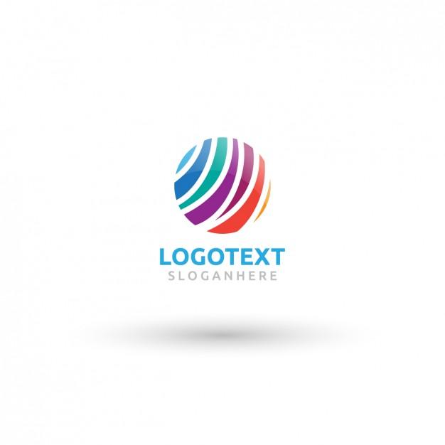 Colorful circle logo Vector.