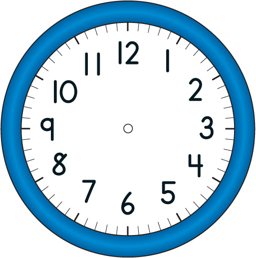 9721 Clock free clipart.