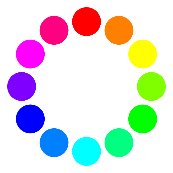 Colored Dots Clipart.