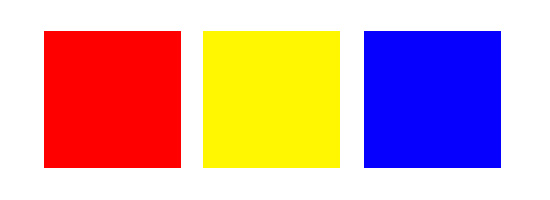 Primary Colors Clipart.