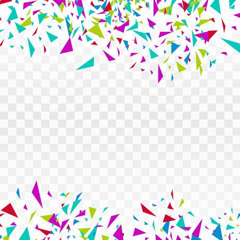 Abstract background party celebration colorful confetti.