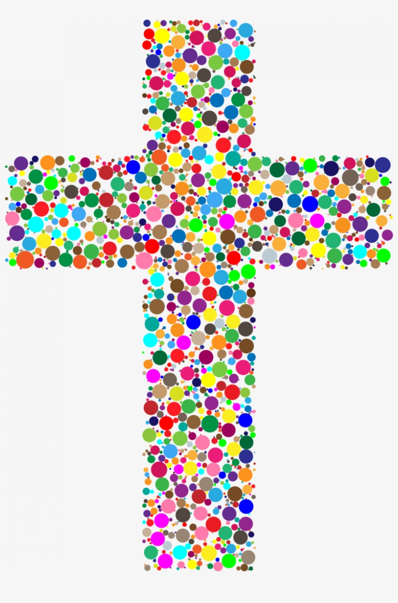Colouful Cross Clipart.