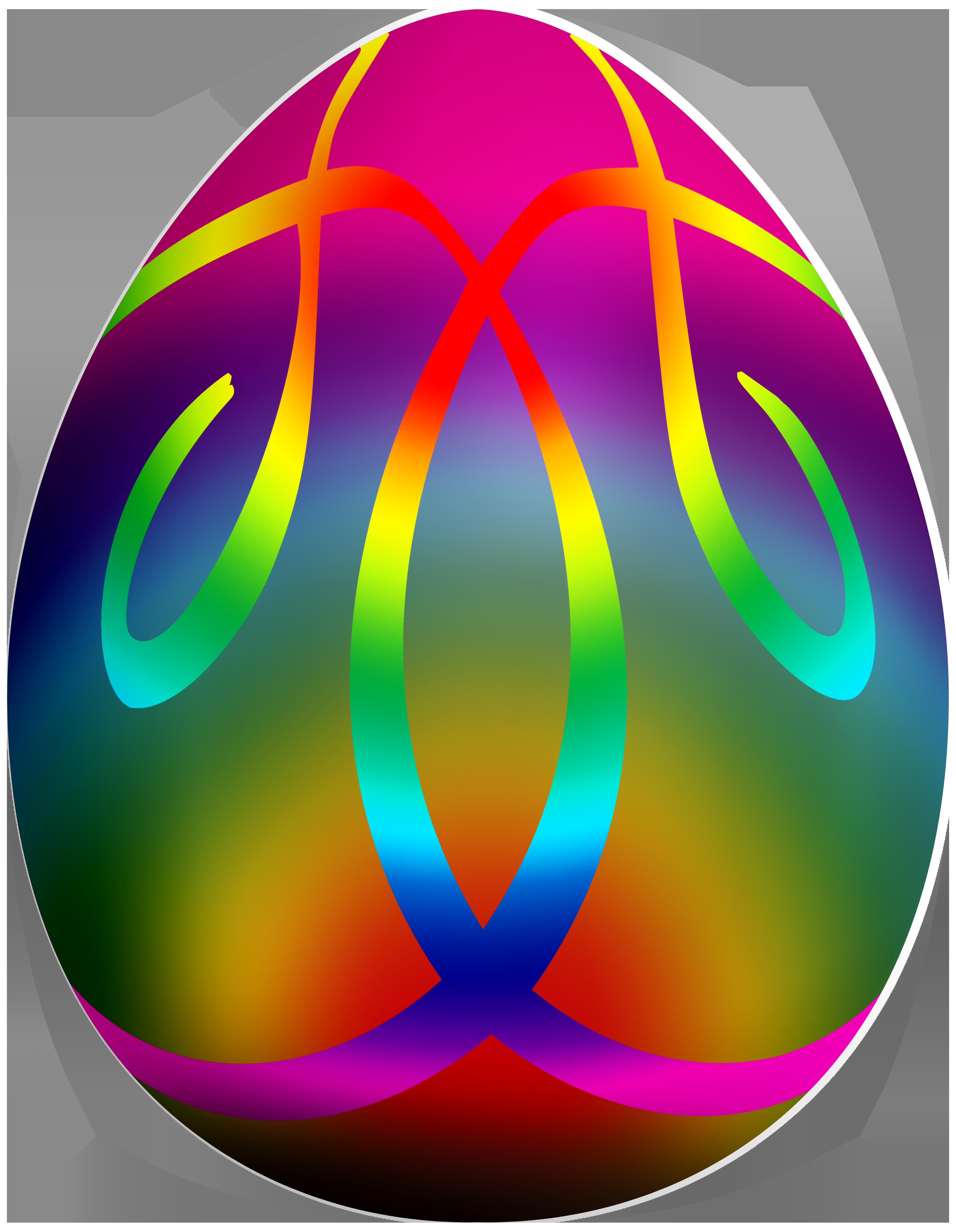 Colorful Easter Egg PNG Clip Art.