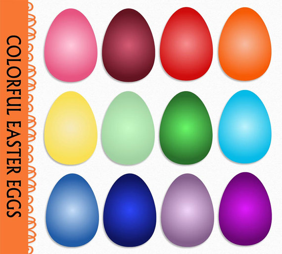 Colorful eggs clipart 20 free Cliparts Download images