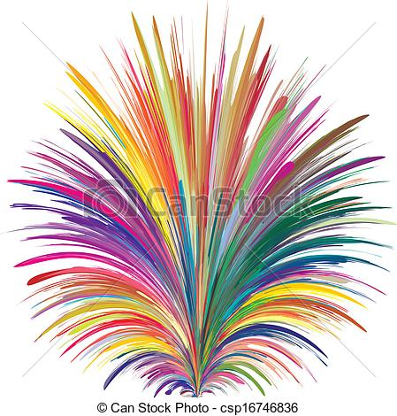 Colorful Explosion Clipart.