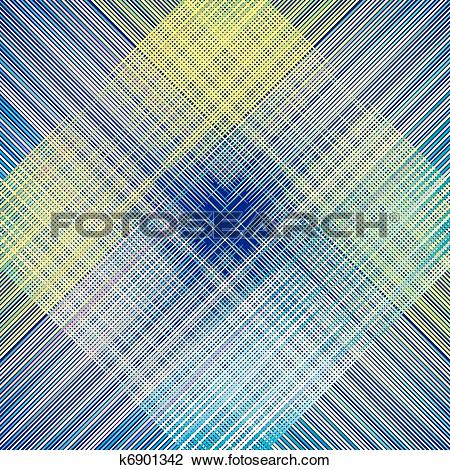 Clipart of fabric texture. weave colorful thre k6901342.