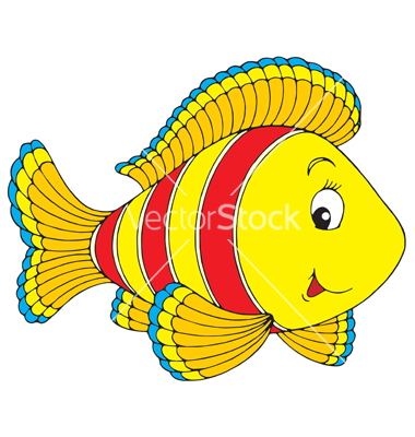 Colorful Fish Clip Art.
