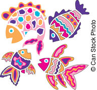 Colorful fish Illustrations and Clipart. 10,645 Colorful fish.