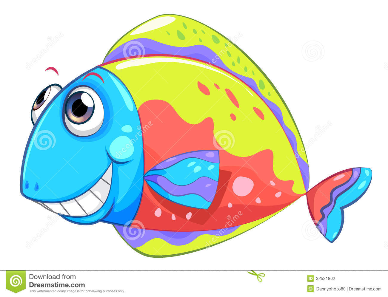 Colorful Fish Clipart.