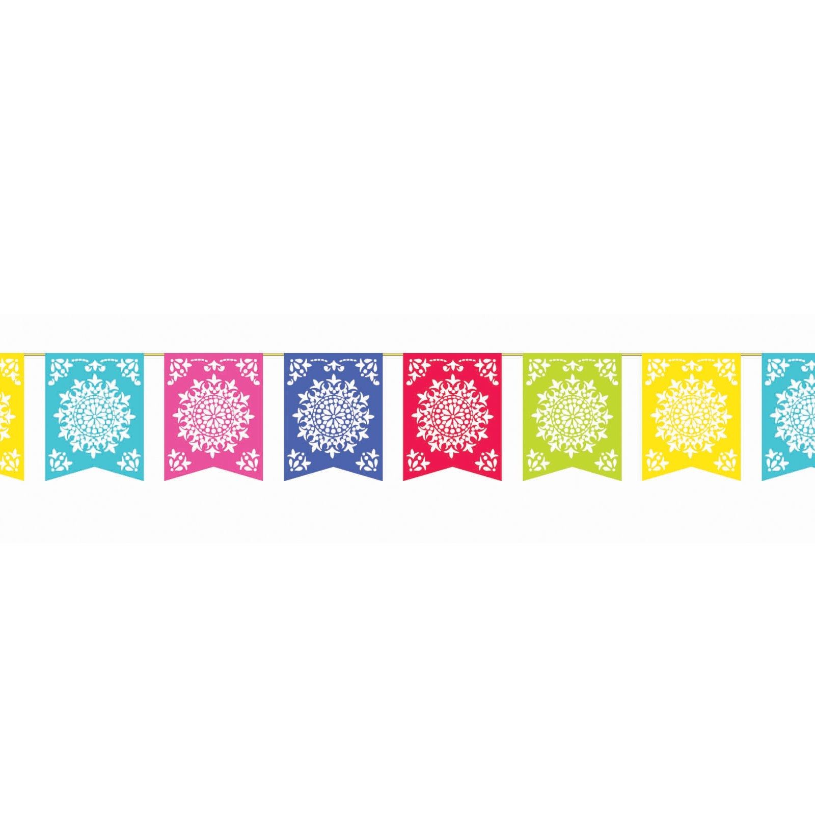 Party flag banners clipart.