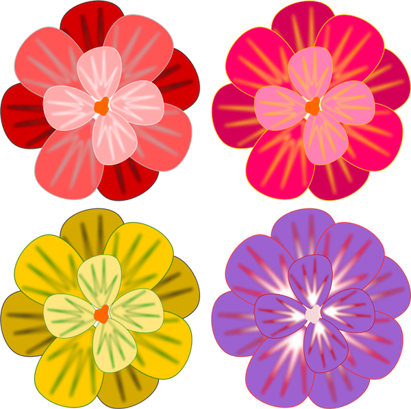 Colorful flowers clipart 20 free Cliparts | Download ... Colorful Flowers Clipart