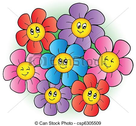 Flowers Stock Illustrations. 685,243 Flowers clip art images and.