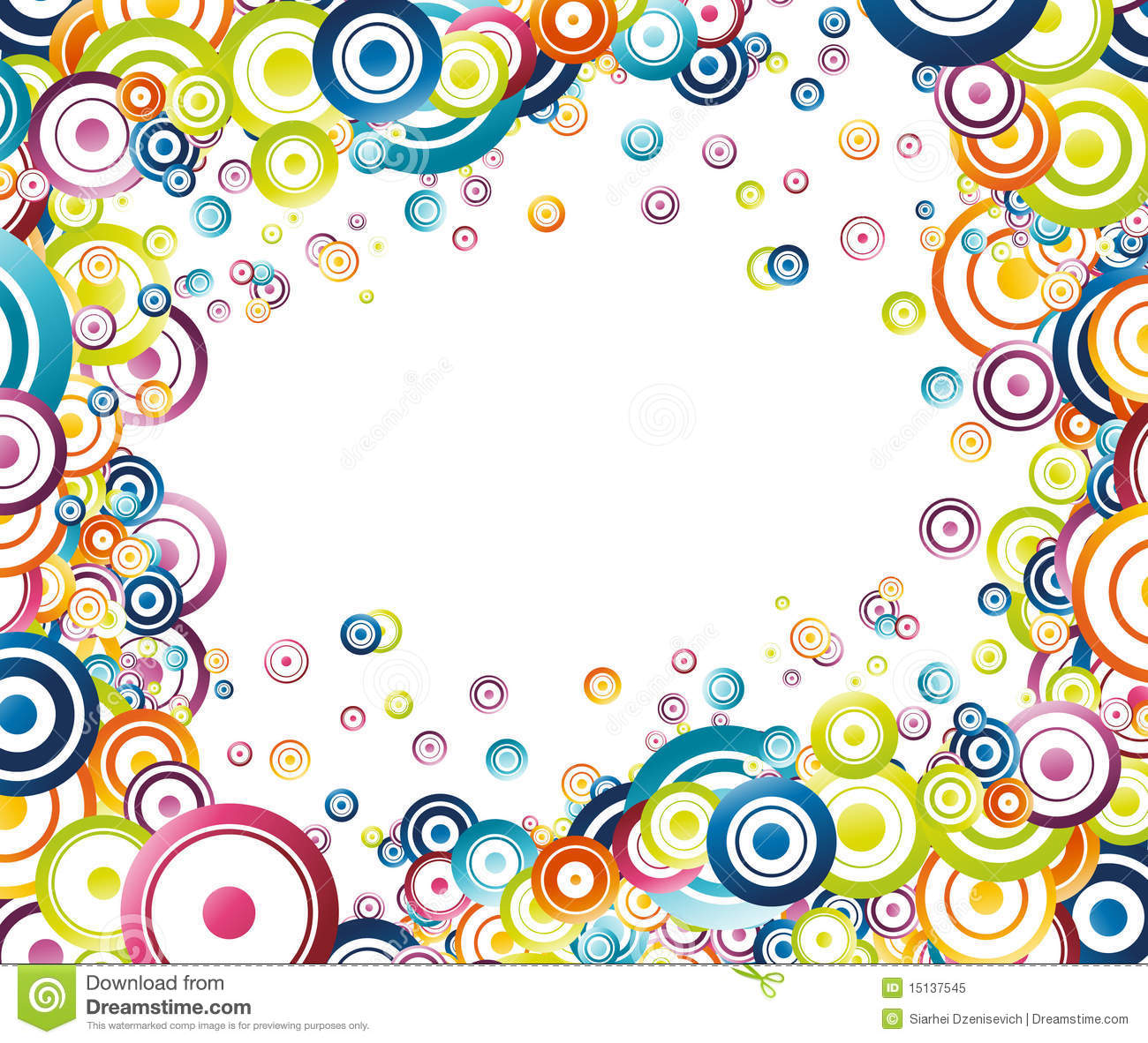 Colorful Frame Clipart.