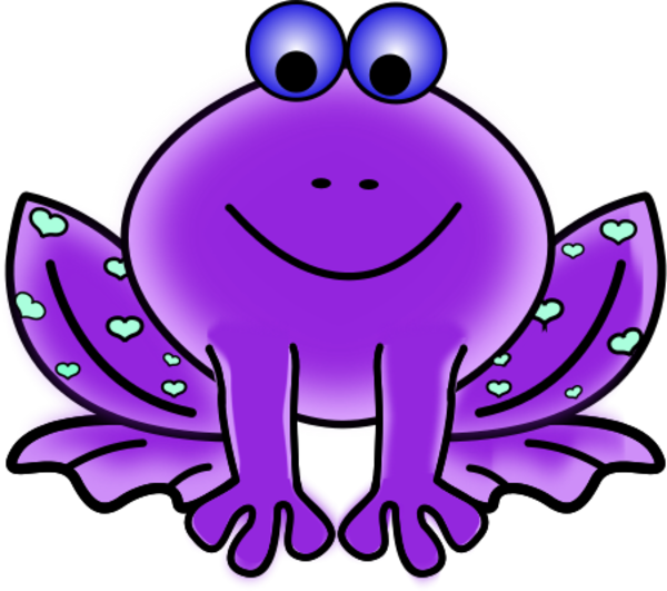 Frogs clipart colored, Frogs colored Transparent FREE for.