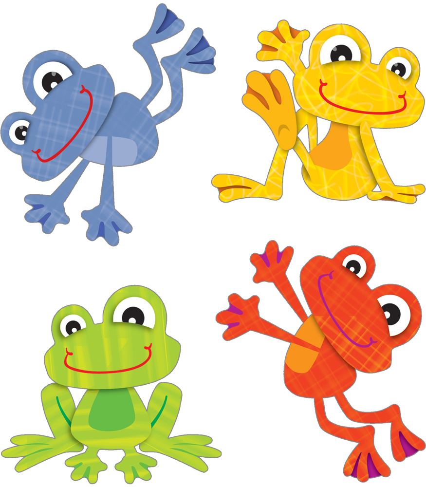 1320 Frogs free clipart.