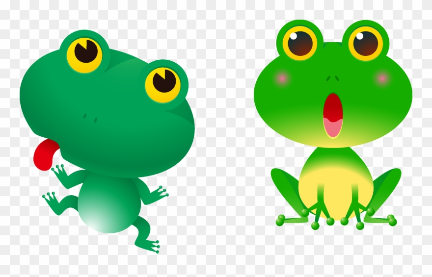 Red Eyed Tree Frog Clipart Colorful Frog.
