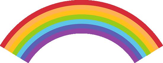 Rainbow Clip Art.