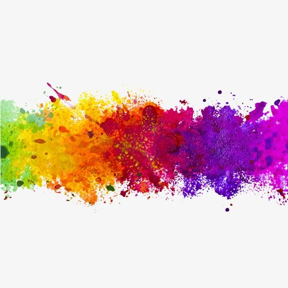 Color Ink Splash, Color Clipart, Splash Clipart PNG.