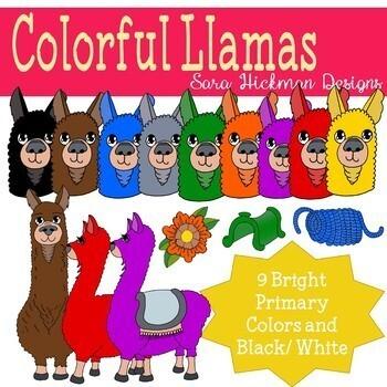 Colorful Llama Bundle.
