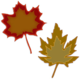 Fall Leaves Clipart.