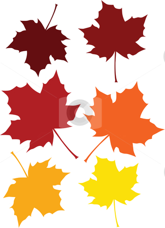 Clipart fall leaves color.