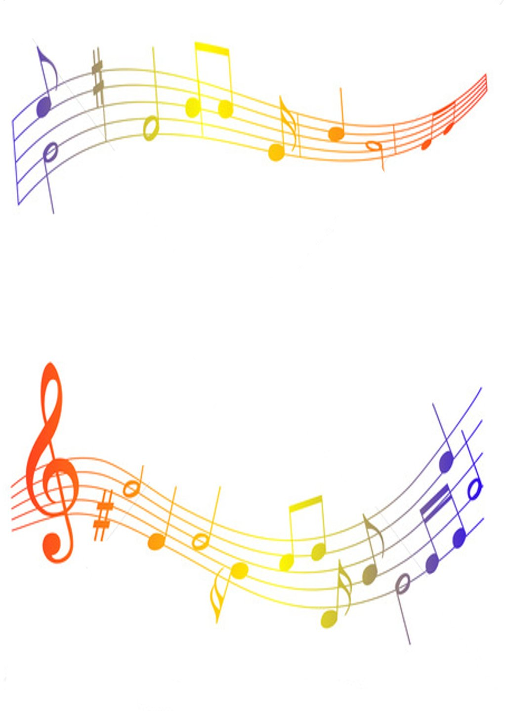 graphic regarding Free Printable Borders and Frames Clip Art titled Totally free New music Clipart Borders And Frames