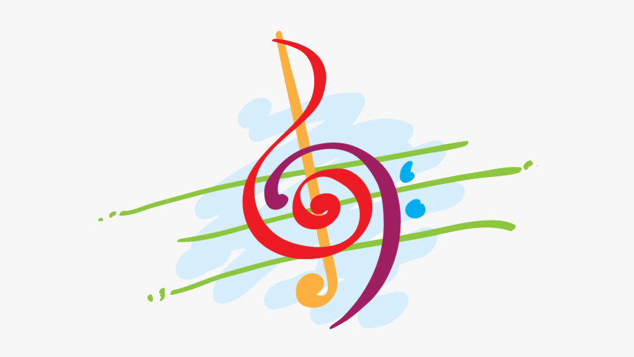 Neon Clipart Musical Note.