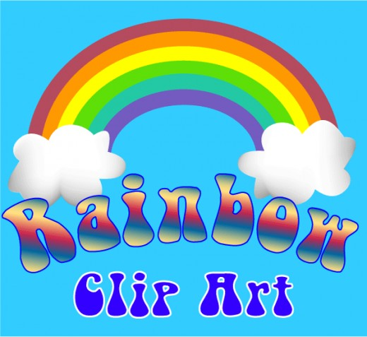 Rainbow Clip Art and Graphics.