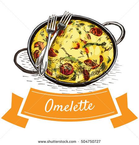 Omelette Stock Vectors, Images & Vector Art.