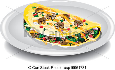 Omelet Stock Illustrations. 852 Omelet clip art images and royalty.