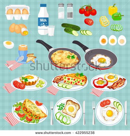 Egg Omelette Stock Photos, Royalty.