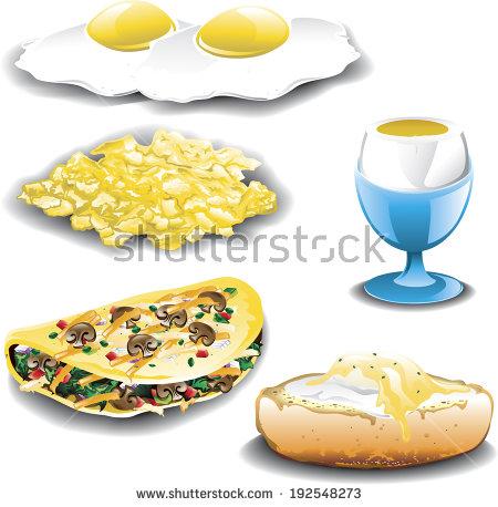 Omelet Vectores, imágenes y arte vectorial en stock.