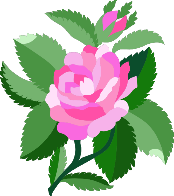 Free Rose Clipart, Animations and Vectors.