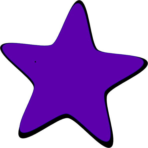 Purple Star Clip Art at Clker.com.